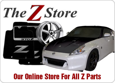 Our Online Store For All Z Parts, 1970 To Present!